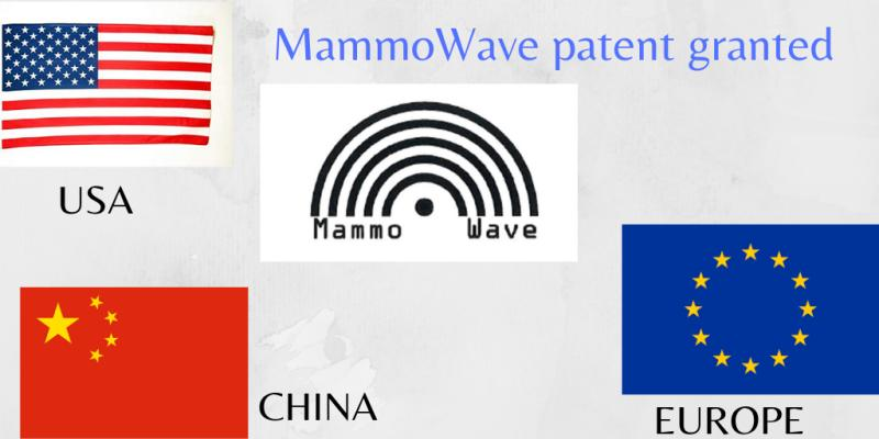 Il Brevetto relativo a Mammowave è stato concesso anche negli Stati Uniti